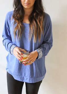 add sparkle to your basics // diy