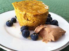 Shore to Run: Pumpkin Microwave Mug Muffin Recipe & Photos