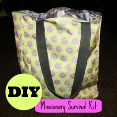 Crafternoon: Missionary Survival Kit
