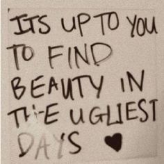 Find the beauty ..