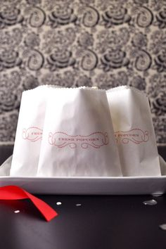 """Fresh Popcorn"" Bag Printable - Free PDF Printable"