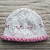 Hat Masha for a Baby Girl - via @Craftsy