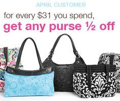 I love my Thirty-One purses!