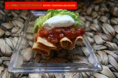 RECIPES: Taquitos Dorados from the book http://www.amazon.com/Celebraciones-Mexicanas-Traditions-AltaMira-Gastronomy/dp/0759122814
