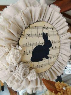 Adorable Easter Bunny Wreath