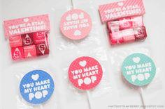 Free Printable Valentine Treats