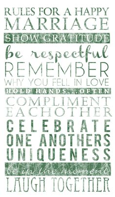 2013 Color EMERALD Wedding Sign for Reception  RULES for a HAPPY MARRIAGE!