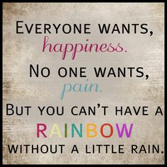 Everyone wants happiness...