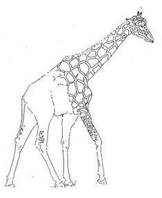 How to draw a giraffe.