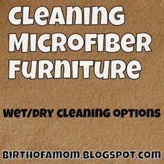 HH6: How to Clean Microfiber Furniture