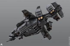 Killzone Shadow Fall - ISA Dropship by KARAKTER - CGHUB