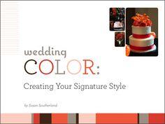 Perfect Wedding Guide, color_ebook #wedding #bridal #ideas
