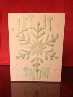 Stampin' Up! demonstrator Heather W's project showing a fun alternate use for the Watercolor Winter Simply Created Card Kit.