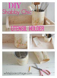 DIY Shabby Chic Uten