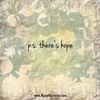 There is hope. Inspirational Images   Mercy Ministries #hope #quotes
