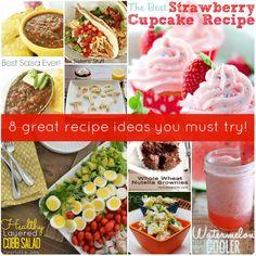 8 Great Recipe Ideas!