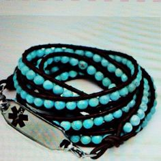 My next medical alert bracelet. Who says diabetes can't be sexy?!? creativemedicalid.com