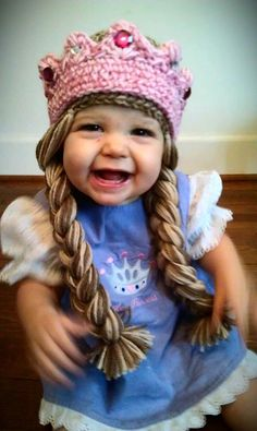 Hey, I found this really awesome Etsy listing at http://www.etsy.com/listing/169375976/crochet-princess-hat