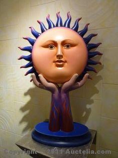 Sergio Bustamante ceramic sculpture