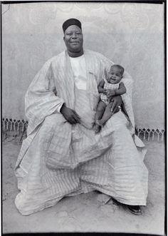 like father, like son    Seydou Keita.