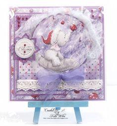 handmade card, Baby's first Christmas, Wild Rose Studio