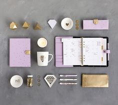 Say hello to lilac and gold with kikki.K's new Seasonal Leather Collection. #kikkiK #gold #lilac