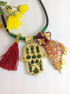 Free ShippingAuthentic  Necklace With Hand of by ANATOLIANDESIGN01, $65.00