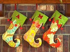 christma stock, elf stock, sewing projects, christmas elf, christma idea, christmas stockings, sewing tutorials, diy christmas, sewing patterns