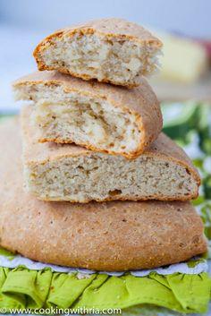 Trinidad Coconut Bake Recipe.  #Trinidad #Tobago #Caribbean #food #recipes #traditional