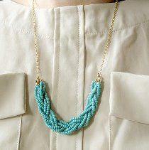 This Braided Seed Bead Necklace is an ever-popular DIY jewelry project! Follow this easy tutorial and make one for yourself.
