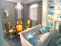 Design by David Bromstad (Color Splash) http://www.hgtv.com/designers-portfolio/room/eclectic/dining-rooms/7730/index.html#/id-7671/room-dining-rooms?soc=pinterest
