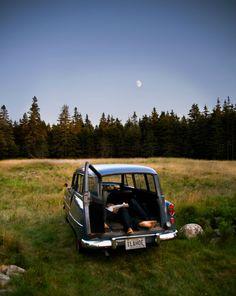 car camping.