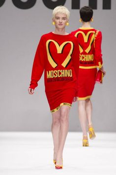 Moschino FW14 - Famous brands concept. Love it!