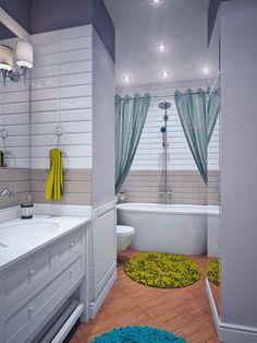 White Bathroom Design  #Design #homedecor #bathroom #architecture