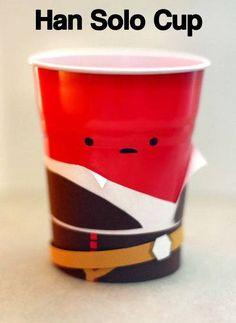 Han Solo Cup. #starwars