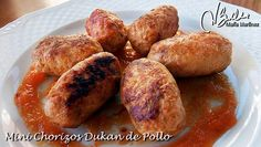 Chorizos de Pollo Dukan con salsa (fase Ataque) | Flickr - Photo Sharing!