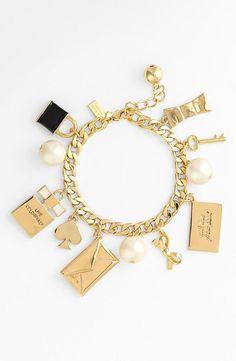 Love this Kate Spade charm bracelet!