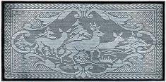 NEW! Filet Crochet Deer Pattern