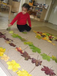 Extraordinary Classroom: Leaves, Leaves and More Leaves pattern, leav