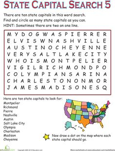 Ss states capitals on pinterest states and capitals for Horticulturist crossword clue