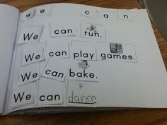 The Go To Teacher: Reading Intervention Cut out sentences to go with Hubbard's Cupboard readers!