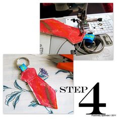 Necktie Key Ring Tutorial   Positively Splendid {Crafts, Sewing, Recipes and Home Decor}
