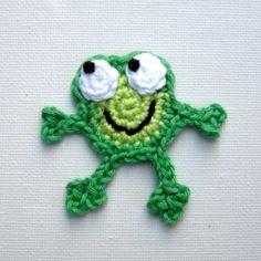 Crochet pattern Frog Amigurumi ~ Free Crochet Patterns