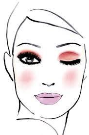 dibujo de maquillaje