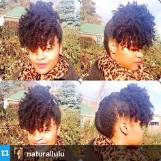 NATURAL HAIR UPDO #curly #hairstyles