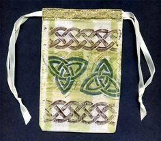 Decorate a Celtic gift bag -  http://carolynsstampstore.com/catalog/celtic_bag.php
