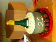 21st Birthday Cake!!