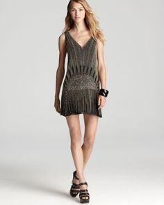 Flapper Dress >> beaded EVERYTHING, ALWAYS.