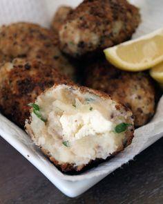 Potato and ricotta croquettes