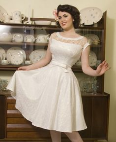 Plus Size Pin Up Style Wedding Dresses - Long Dresses Online